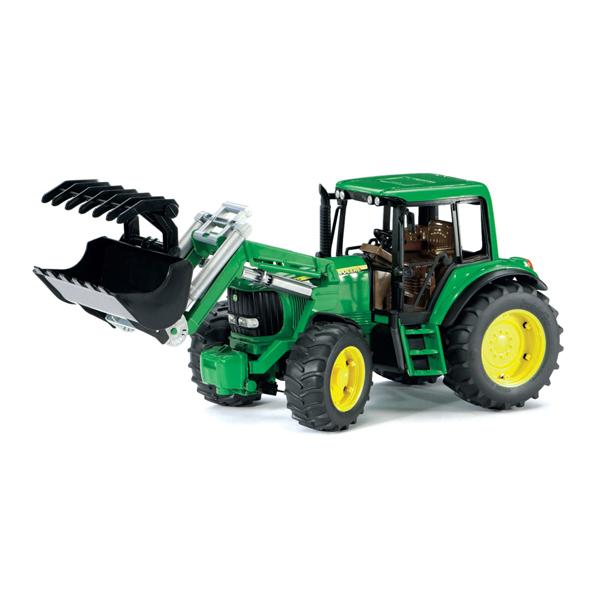 Bruder Трактор John Deere 6920 с погрузчиком