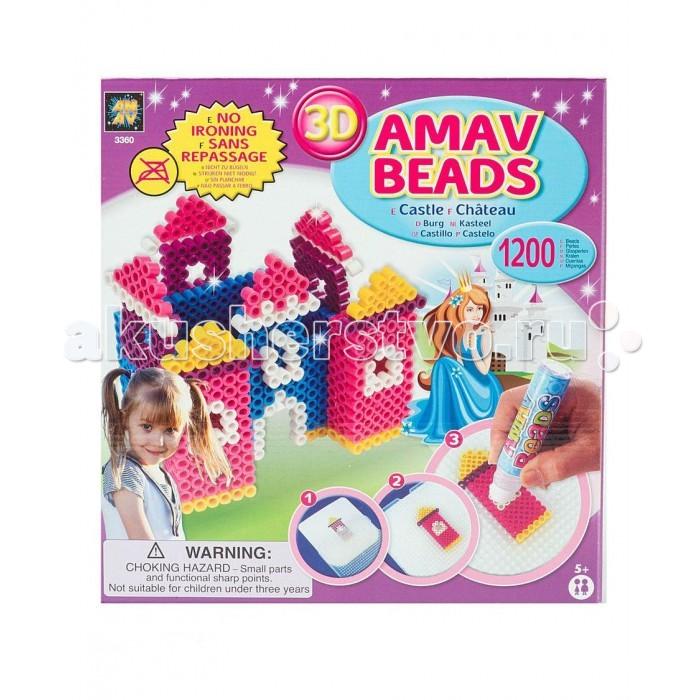 AMAV (Diamant) Набор Замок принцессыНабор Замок принцессыНабор Замок принцессы AMAV (Diamant) 3366.  С помощью данной игры ребенок сложет фигурку замка и принцессы. Как это сделать? На специальной поверхности нужно выложить фигурку, как показано в инструкции, используя разноцветные элементы. Далее, нужно провести по фигурке водным аппликатором (вместо клея) для скрепления частей, немного подождать и оригинальная фигурка будет готова.   Набор для творчества Замок принцессы станет приятным подарком на любой праздник.<br>