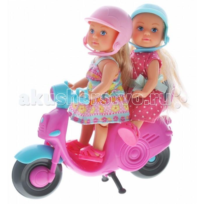 Simba Кукла Еви Веселое путешествие на скутере