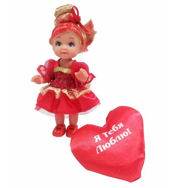 Simba Кукла Еви с сердечком