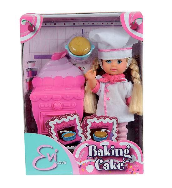 Куклы Simba Еви печет торт