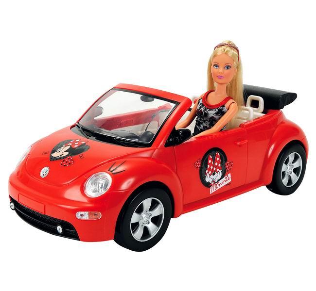 Simba Кукла Штеффи Minnie Mouse на авто