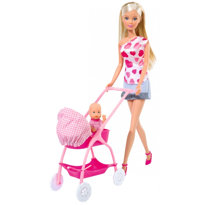 Simba Кукла Штеффи с новорожденным