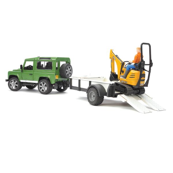 Bruder ����������� Land Rover Defender c ��������-���������� � ������������
