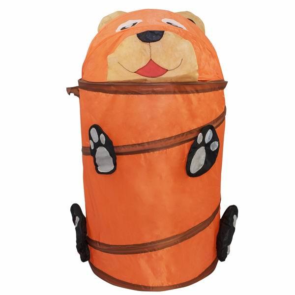 Ящики для игрушек Amalfy Корзина для игрушек Медведь оранжевый