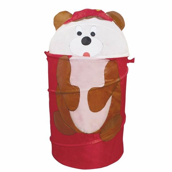 Ящики для игрушек Amalfy Корзина для игрушек Медведь коричневый