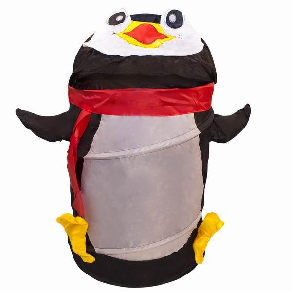 Ящики для игрушек Amalfy Корзина для игрушек Пингвин чёрный