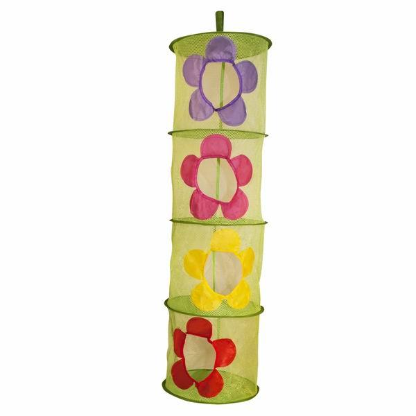 Ящики для игрушек Amalfy Корзина для игрушек подвесная Цветы