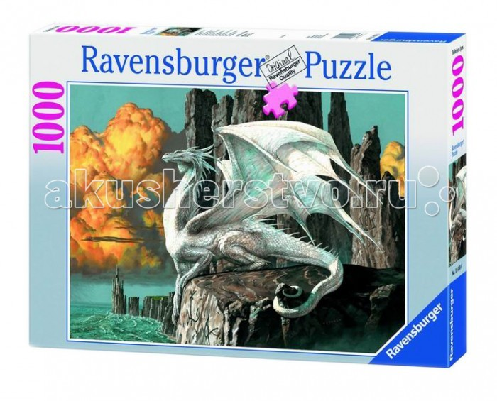 Настольная игра Белый дракон, Пазл 1000 элементов