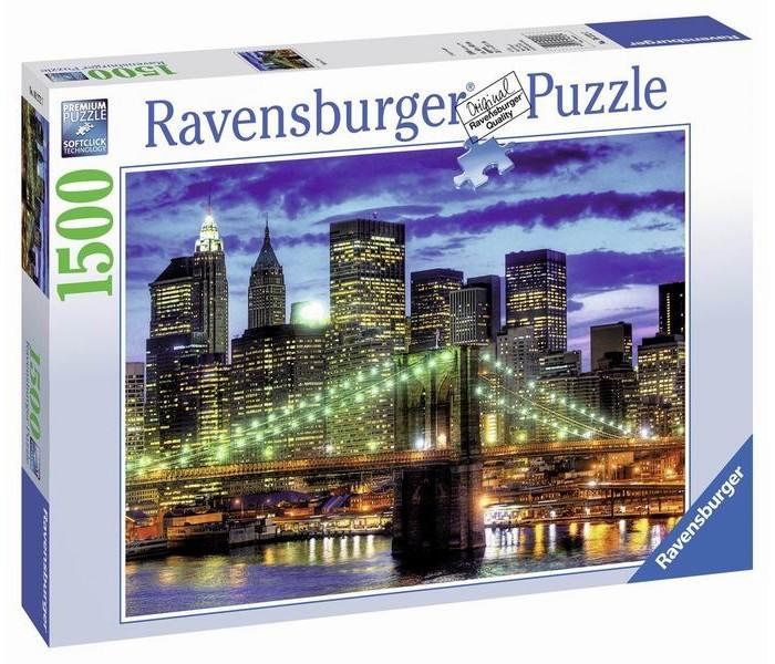 Настольная игра Небоскребы Нью-Йорка, Пазл 1500 элементов