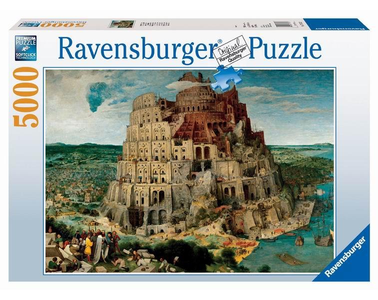 Ravensburger Пазл Брейгель. Вавилонская башня 5000 элементов