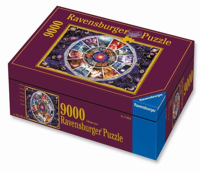 Настольная игра Астрология, Пазл 9000 элементов