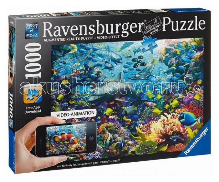 Ravensburger ���� ��������� ������� � �����-��������� 1000 ���������