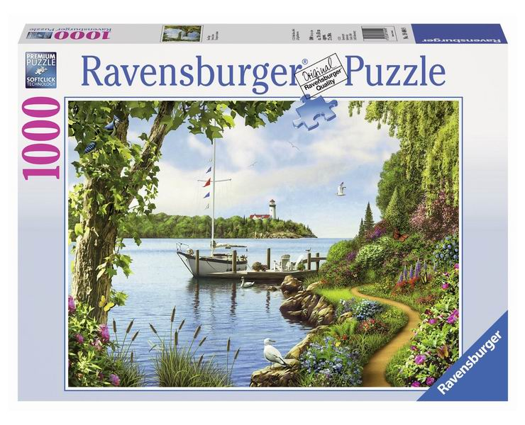 Ravensburger Пазл День на озере 1000 элементов
