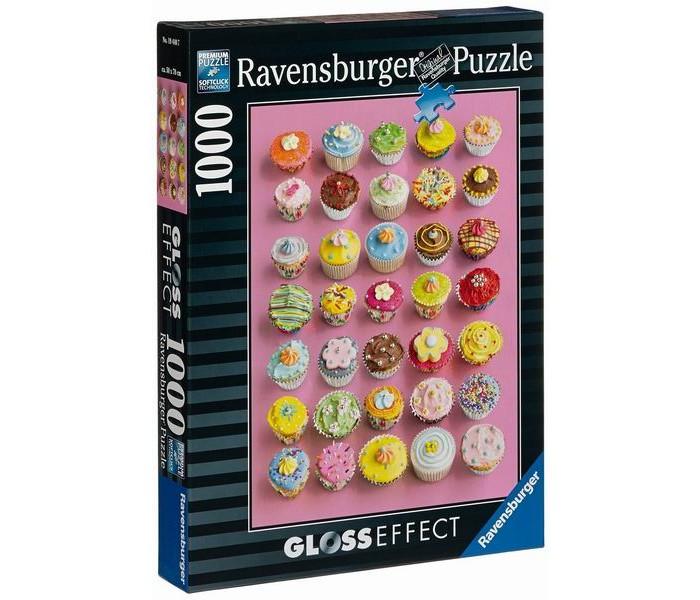 Настольная игра Цветные кексы с глянцевым эффектом 1000 элементов