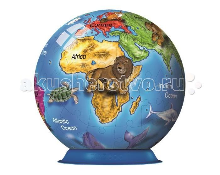 Ravensburger 3D Пазл Земной шар 72 элементов