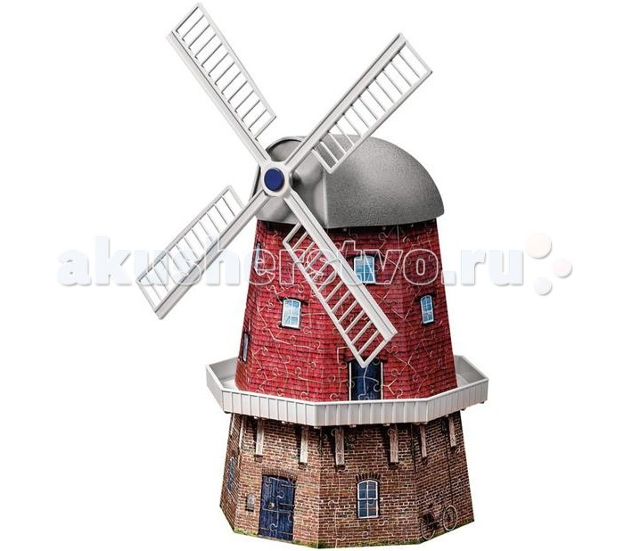 Ravensburger 3D Пазл Ветряная мельница 216 элементов