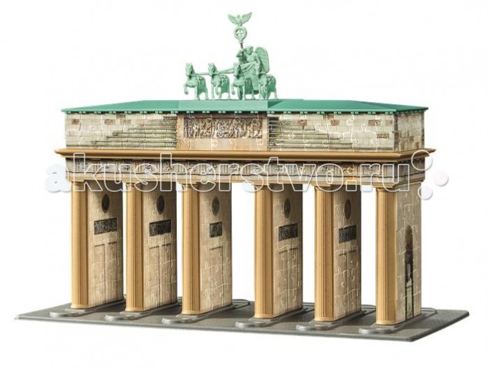 Ravensburger 3D Пазл Берлин-Бранденбургские ворота 324 элемента