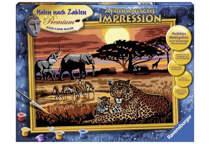 Ravensburger по номерам Африкапо номерам АфрикаИспользуя раскраски по номерам, каждый желающий может почувствовать себя настоящим художником. Это является также прекрасным, удобным и практичным методом для самообучения. Каждый хороший художник умеет «чувствовать» цвет, правильно соединять краски для того, чтоб получить нужный оттенок. Начинающие не так хорошо разбираются в подобных тонкостях, поэтому раскраска по номерам на холсте дает шикарные возможности для обучения и получения важного опыта.  Набор для раскраски включает в себя всё самое необходимое: холст требуемой величины с готовым контуром, акриловые краски нужных оттенков, кисточку и контрольный лист. Контур рисунка уже заранее помечен, какой элемент необходимо раскрасить и каким именно цветом. Поэтому владельцу подобной раскраски не придется требовать от себя невозможного. Контрольный лист позволит получить в итоге именно такой рисунок, который был задуман автором.  В набор входят: фактурная картонная основа с пронумерованными контурами акриловые краски кисть контрольный лист подставка для красок в форме палитры рамка  Размер готовой работы: 40 х 30 см.<br>