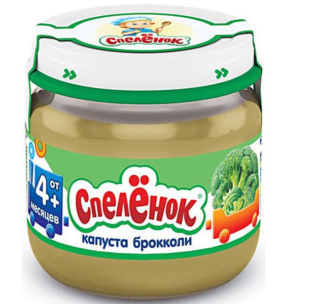 Пюре Спеленок Пюре Брокколи с 4 мес., 80 г
