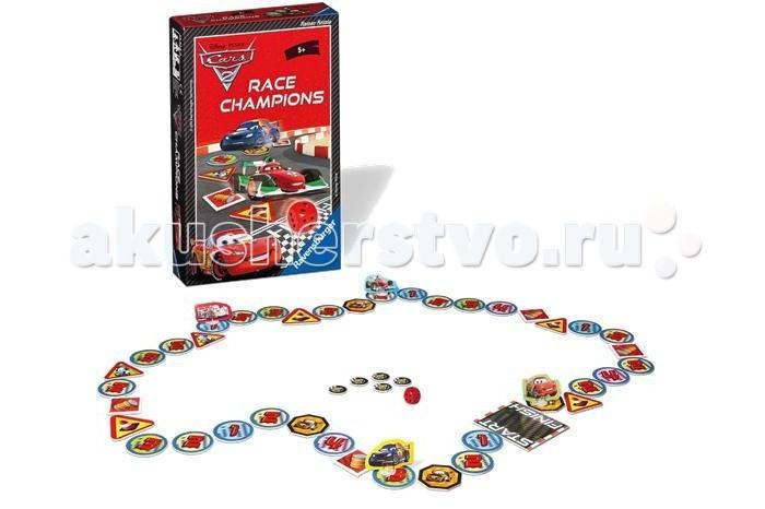 Ravensburger Настольная игра Тачки-2: чемпион гонок