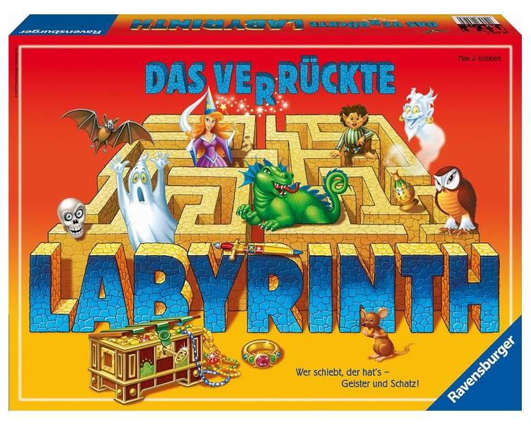 Ravensburger Настольная игра ЛабиринтНастольная игра Лабиринт«Лабиринт» — это удивительно увлекательная настольная игра от компании Ravensburger. Вам предстоит взять на себя роль путешественника, который бродит в сложном лабиринте в поисках сокровищ. Главная изюминка игры в том, что вы окажетесь не в простом лабиринте, а в сумасшедшем!  Ход игры Игра неспроста называется «Лабиринт». Все дело в том, что этот лабиринт постоянно видоизменяется, принимая самые причудливые формы! Весь секрет — в игровом поле, которое сделано таким образом, что игроки могут сдвигать специальные плашки, образуя новые формы лабиринта.  По ходу игры участники открывают специальные карточки, на которых изображено сокровище, которое необходимо отыскать в лабиринте. Для того чтобы заполучить этот предмет, игрок вставляет одну из карточек лабиринта с одной из сторон игрового поля, так чтобы образовать себе проход. При этом на противоположной стороне поля выдвигается крайняя карточка, которая убирается из лабиринта. После смещения лабиринта игрок должен сделать ход своей фишкой. Фишка может перемещаться на любое расстояние при условии, что на ее пути есть свободный проход.  Уже через несколько ходов вы забудете обо всем, кроме Лабиринта. У каждого игрока своя цель, к которой можно прийти только своим путем. И, конечно, игроки будут всячески стараться подстроить лабиринт под себя, разрушая замыслы своих соперников в самый неподходящий момент.  В комплекте: Игровое поле  34 игровые карточки с изображением ходов лабиринта 24 секретных карточек 4 игровых фишки Инструкция  Размер игровой доски: 22 см x 22 см Количество игроков: от 2 до 4<br>