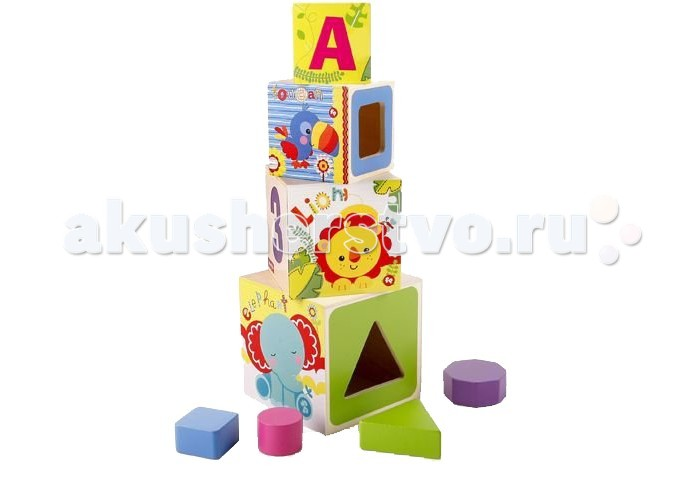 ���������� ������� Fisher Price ����� �� 4 �������-�������� � ��������