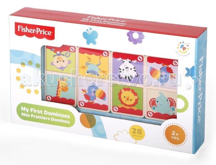 Деревянная игрушка Fisher Price Домино Животные