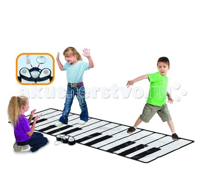 Игровой коврик EvoLife Музыкальное напольное пианино Zippy mat