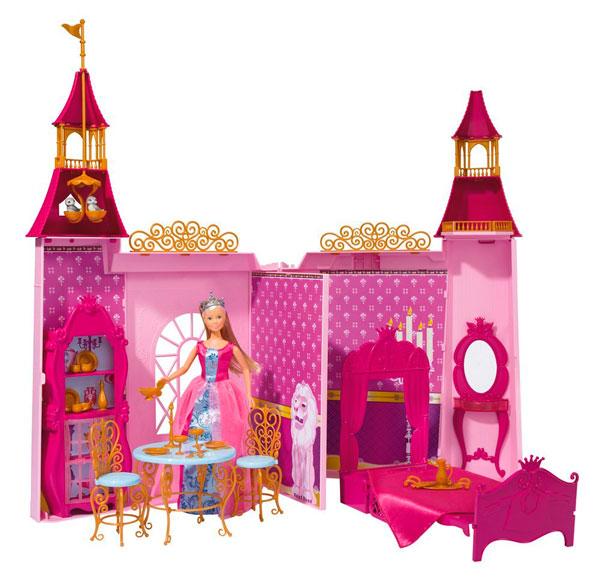 Кукольные домики Simba Штеффи и ее замок
