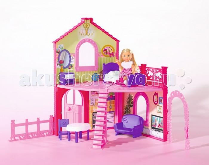 Кукольные домики Simba Еви в двухэтажном доме