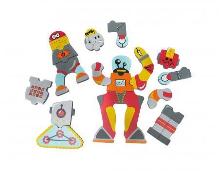 Edushape Набор для игры в ванне Роботы 547019