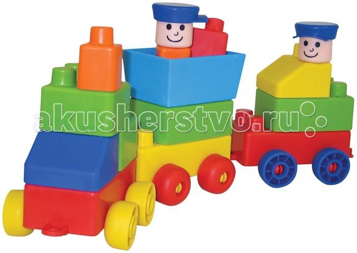 Конструктор Edushape Поезд 826028