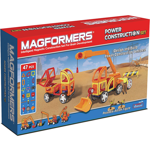 ����������� Magformers ��������� Power Construction Set 63090