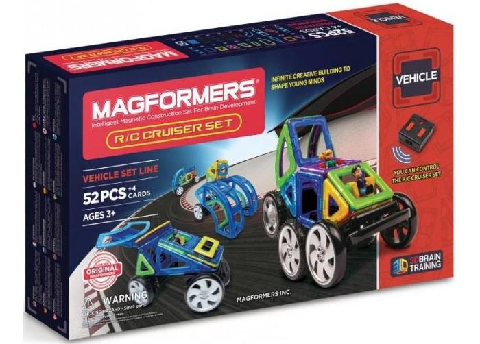 Конструктор Magformers Магнитный R/C custom Set 63091Магнитный R/C custom Set 63091Магнитный конструктор Magformers R/C custom Set 63091.  Впервые Магформерс на дистанционном управлении!   В этот великолепный набор входят колеса и пульт дистанционного управления, а также большое количество совершенно новых деталей: суперарка, суперсектор, суперпрямоугольник. Теперь все Ваши удивительные постройки из Магформерс обретут новую жизнь в движении!  Набор идеален и как развитие Вашей коллекции Магформерс, и как первый конструктор Магформерс у Вас дома. Ведь все детали конструкторов Магформерс 100% совместимы друг с другом.  Набор Magformers R/C Custom Set содержит 52 элемента.<br>