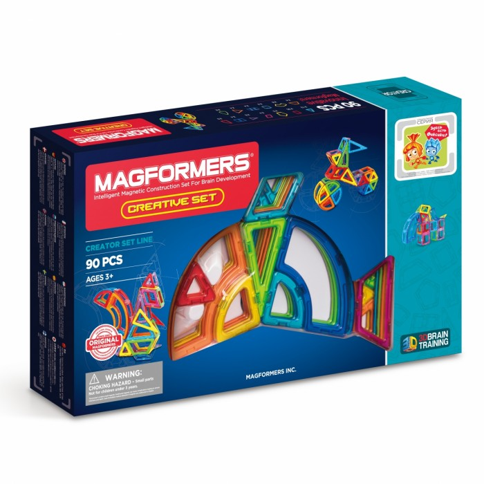 Magformers Магнитный Creative 90 63118
