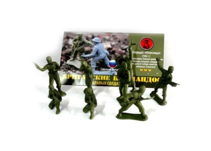 Биплант Солдатики Британские КомандосСолдатики Британские КомандосСолдатики Британские Командос Биплант 12017.  Солдатики времен Второй Мировой Войны!  В наборе 8 бравых солдатиков (8 разных поз) и краткая историческая справка о военной операции, в которой участвовали эти армии.  Размер упаковки: 15 х 22 см<br>
