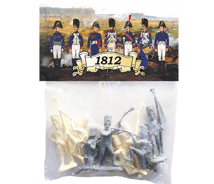 Биплант Солдатики Армия 1812 годаСолдатики Армия 1812 годаСолдатики Армия 1812 года Биплант 12022.  Солдатики времен войны 1812 года!  В наборе 8 бравых солдатиков (8 разных поз) и краткая историческая справка о военной операции, в которой участвовали эти армии.  Набор солдатиков: 8 разных поз.<br>