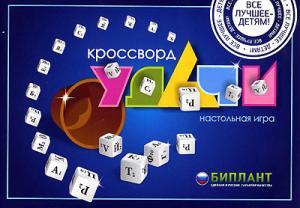 Настольная игра Кроссворд Удачи синий