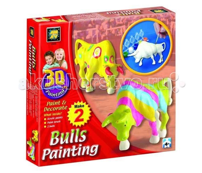 AMAV (Diamant) Набор Разрисуй буйволов 3D