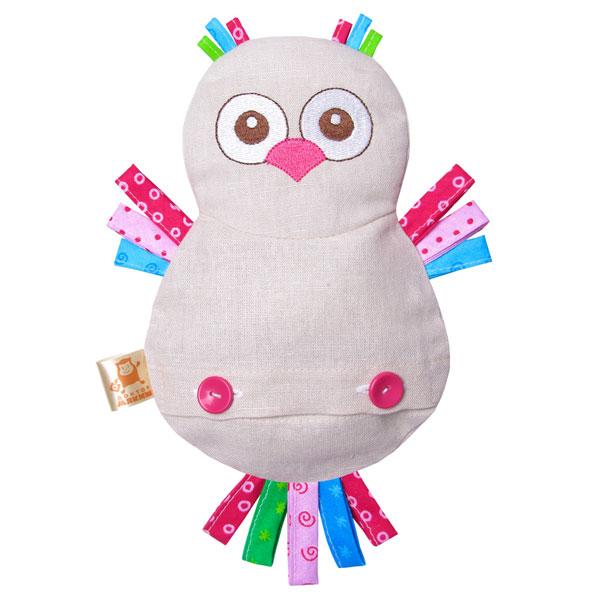 Мягкая игрушка Мякиши Доктор СоваДоктор СоваРазвивающий игрушка Мякиши Доктор Сова — это просто волшебство для Вас и Вашего малыша. А также настоящее спасение, благодаря вишнёвым косточкам, которые обладают лечебными свойствами!!!   Особенности: Льняную термоигрушку «Доктор Мякиш» можно использовать в трёх температурных режимах: горячий, холодный, нейтральный Изготовлено из гипоаллергенных материалов<br>