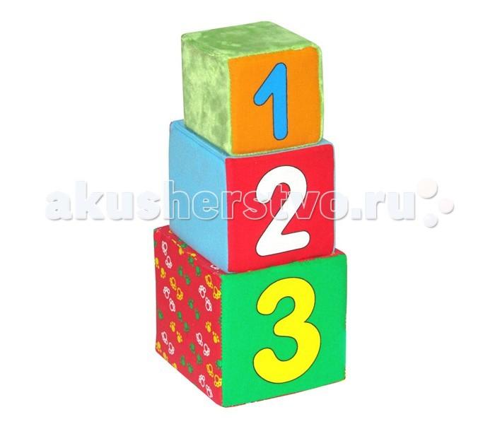 Развивающая игрушка Мякиши Кубики Раз два триКубики Раз два триРазвивающий игрушка Мякиши Кубики Раз два три - это уникальный набор из трёх мягких кубиков обучающий счёту, мелкой моторике, а также сенсорному восприятию мира.  Изготовлено из гипоаллергенных материалов.   При поставке цветовые решения игрушек могут отличаться от выложенных на сайте!  Размер кубика:  1 кубик 8 х 8 см 2 кубик 10 х 10 см 3 кубик 12 х 12 см<br>