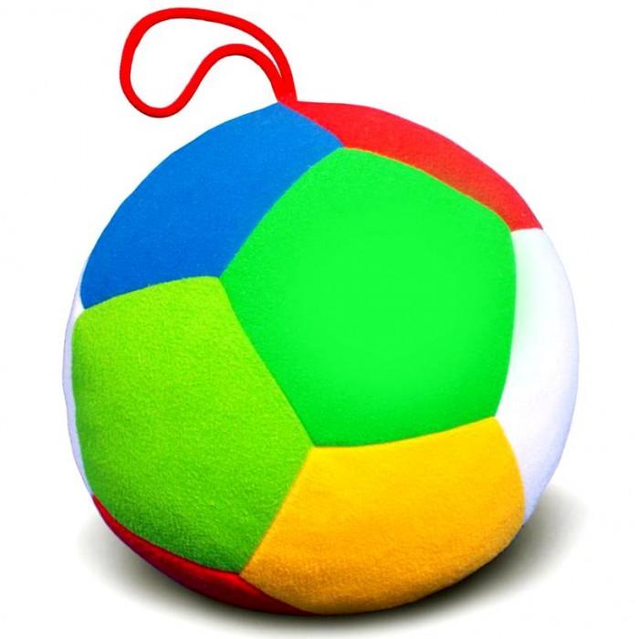Мягкая игрушка Мякиши Мяч Футбол 18 смМяч Футбол 18 смМягкая игрушка Мякиши Мяч Футбол изготовлен из гипоаллергенных материалов.  Малыш узнает и сможет запомнить: Пять цветов: красный, желтый, зеленый, синий, белый и оттенок зеленого цвета: темно-зеленый; LI>Не только объемную форму — шар, но и правильные пятиугольники, из которых сшит мячик<br>