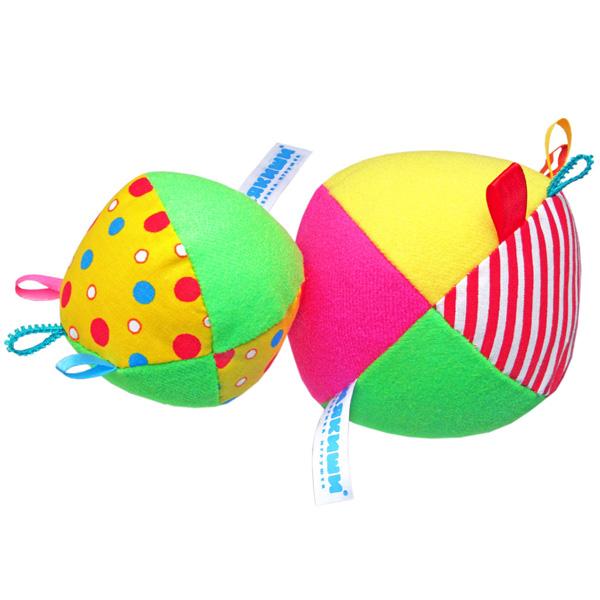Мягкие игрушки Мякиши Набор Мячи с петельками
