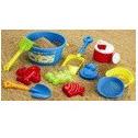 Игрушки в песочницу Pullman Набор с ведерком, 11 предметов