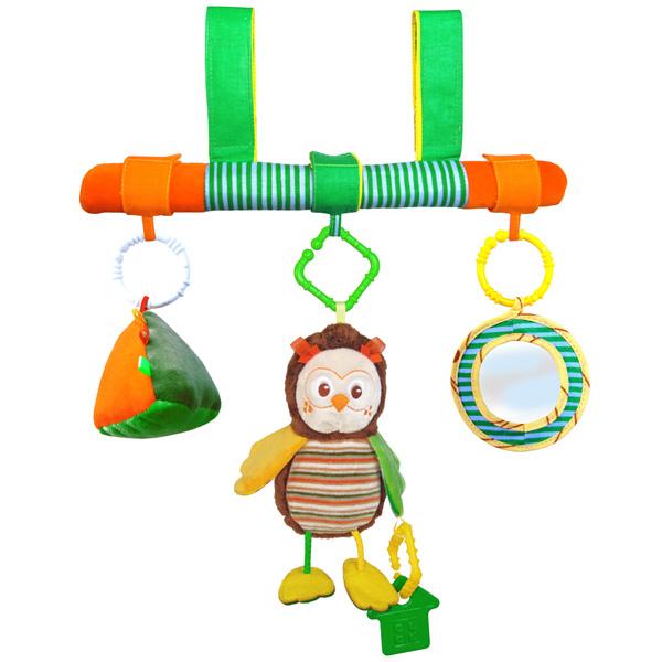 Подвесная игрушка Мякиши на перекладине Совёнок