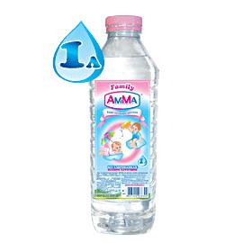 Вода Амма Вода питьевая детская 1 л