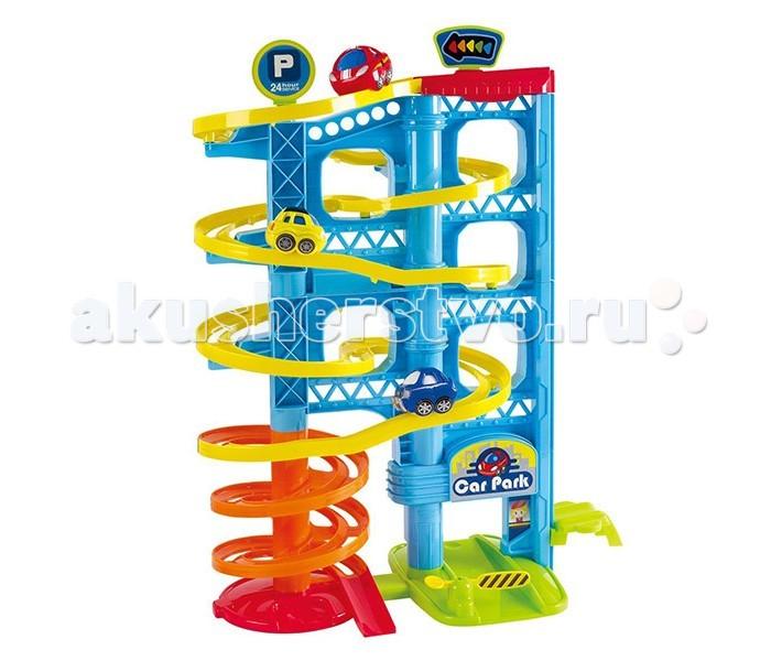 Playgo Игровая парковка 3 уровняИгровая парковка 3 уровняМногоэтажная парковка с лифтом и 3-я машинками.  Больше уровней, больше удовольствия!  3 машинки в комплекте, простая сборка!  На каком этаже припаркуемся?  Игрушка изготовлена из высококачественных материалов.<br>