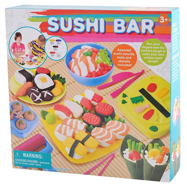 Пластилин Playgo Набор Суши бар