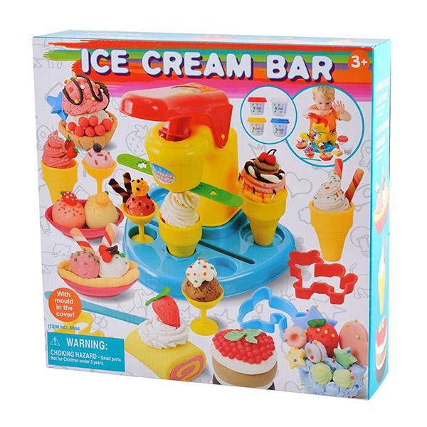 Пластилин Playgo Набор Бар-мороженое